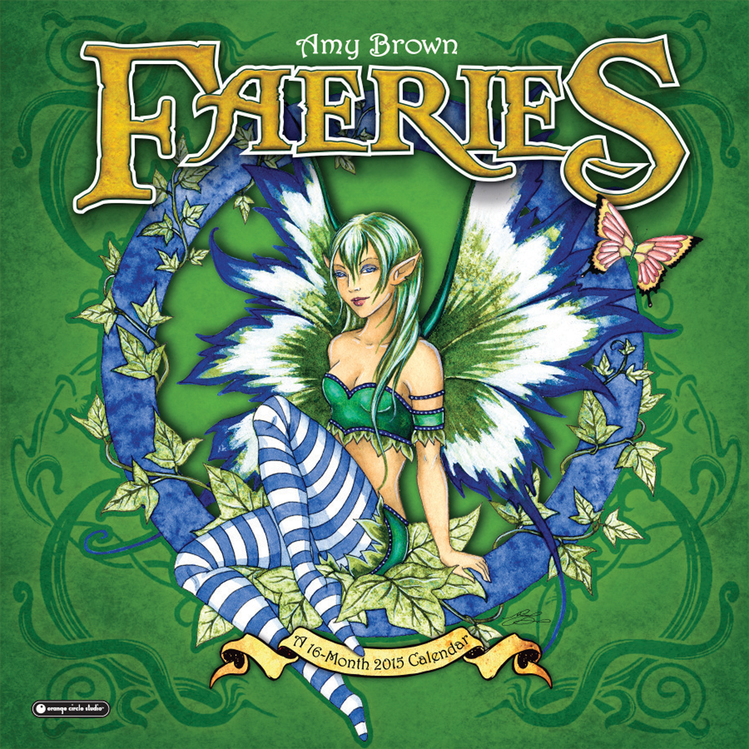 Amy Brown Faeries 2015 Wall Calendar Large
