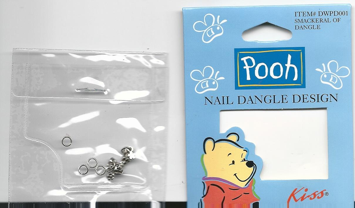 Winnie The Pooh Piglet Dangles Nail Charm