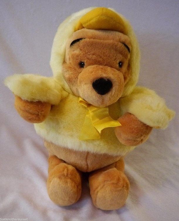 Easter Pooh Chick Plush