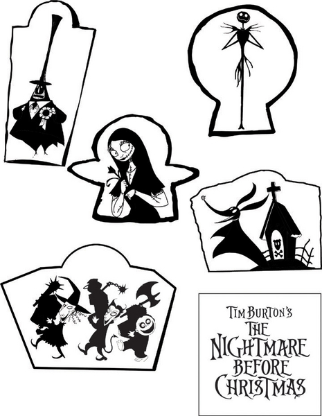 Nightmare Before Christmas Images Black And White.Nightmare Before Christmas Glow In Dark Ceiling Stars