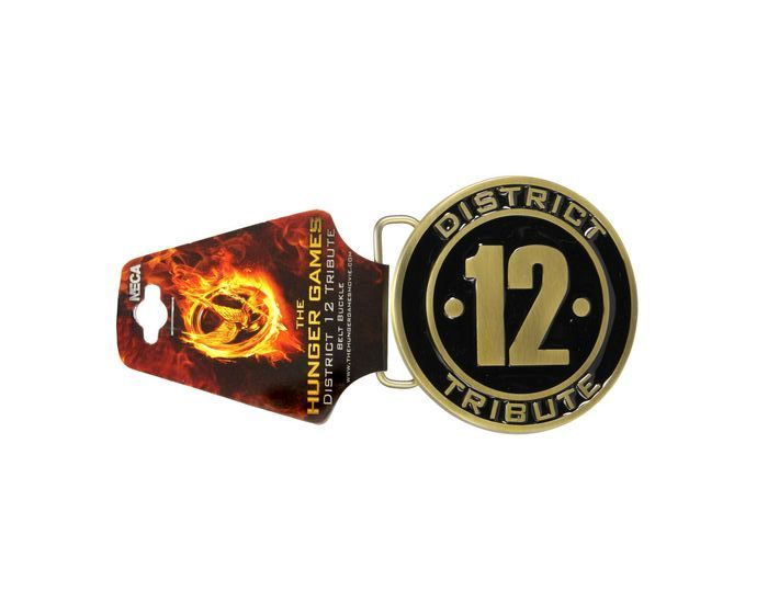 Hunger Games District 12 Belt Buckle