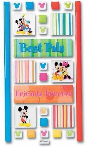 Mickey Mouse Best Pal Adhesive Tiles Stickers