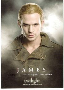 #12 James Portrait, Twilight Trading Card