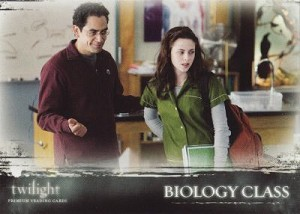 #26 Biology Class, Twilight Trading Card