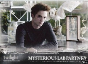 #27 Mysterious Lab Partner, Twilight Trading Card
