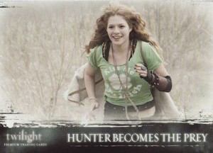 #54 Hunter Becomes Prey, Twilight Trading Card