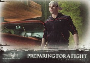 #61 Preparing for a Fight, Twilight Trading Card