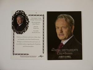 The Mortal Instruments, City of Bones, Base Character Trading Card, Hodge Starkweather CB-6