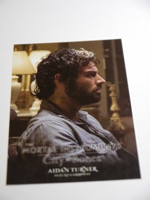 The Mortal Instruments, City of Bones, Base Character Trading Card, Luke Garroway CB-1