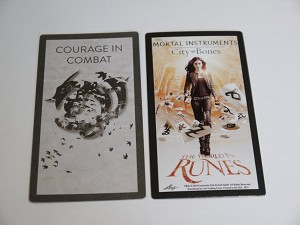 The Mortal Instruments, The World In Runes, Courage in Combat Card