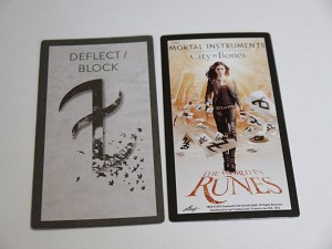 The Mortal Instruments, The World In Runes, Deflect Block Card