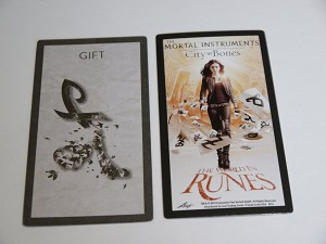 The Mortal Instruments, The World In Runes, Gift Rune Card
