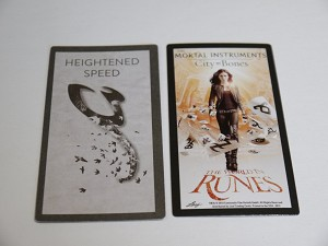 The Mortal Instruments, The World In Runes, Heightened Speed Card