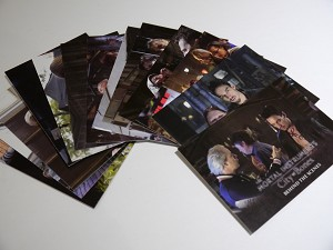 The Mortal Instruments, City of Bones, Trading Card, Behind The Scenes Set 1-13
