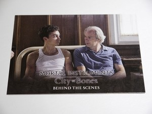 The Mortal Instruments, City of Bones, Behind The Scenes Trading Card, BHS-3