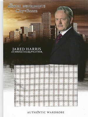 The Mortal Instruments, City of Bones, Authentic Wardrobe Trading Card, Jared Harris as Hodge Starkweather