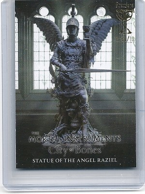 The Mortal Instruments, City of Bones, Trading Card, Premiere Foil Stamp S-4 Angel Raziel