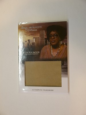 The Mortal Instruments, City of Bones, Authentic Wardrobe Trading Card, CCH Pounder as Madame Dorothea