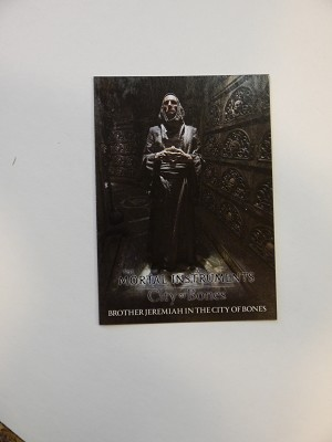The Mortal Instruments, City of Bones, Trading Card, Brother Jeremiah in The City of Bones, S-1