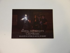 The Mortal Instruments, City of Bones, Trading Card, Shadowhunters in Hotel Dumort S-14