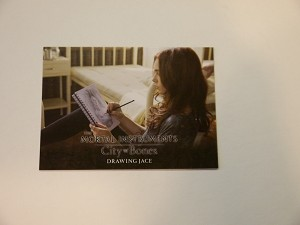 The Mortal Instruments, City of Bones, Trading Card, Drawing Jace S-50