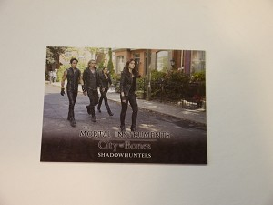 The Mortal Instruments, City of Bones, Trading Card, Shadowhunters S-51