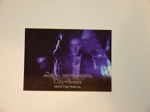The Mortal Instruments, City of Bones, Trading Card, The Deal S-65 Jonathan Rhys Meyers
