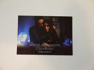 The Mortal Instruments, City of Bones, Trading Card, Take it Out Jonathan Rhys Meyers S-67