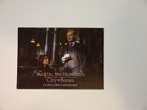 The Mortal Instruments, City of Bones, Trading Card, Clave Covenant S-71