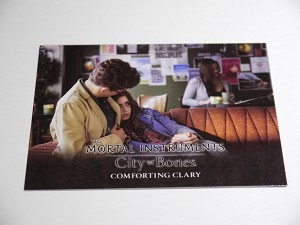 The Mortal Instruments, City of Bones, Trading Card, Comforting Clary S-8