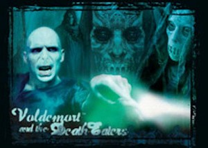 Order of The Phoenix, Trading Card, R4 Voldemort Wand