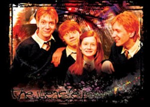 Order of The Phoenix, Trading Card, R8 The Weasley's