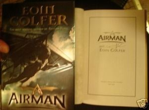 Airman Signed by Eoin Colfer