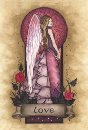 Love Angel Virtues, Print A4