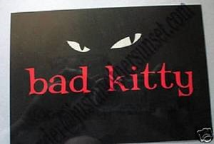 Bad Kitty Good Kitty Gone Bad, Postcard