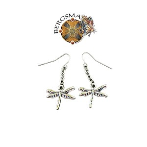 Dragonfly, Earrings