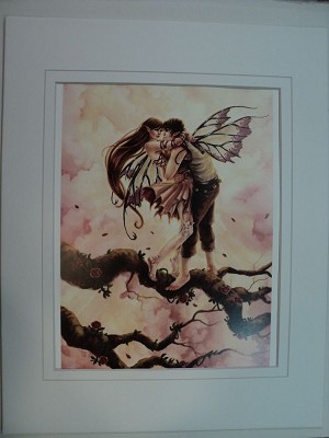 Blossoming Love, Special Print Matted