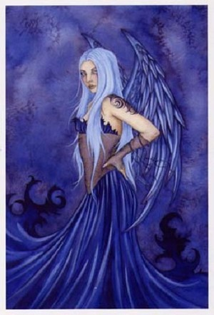 Blue Angel, Limited Edition Print