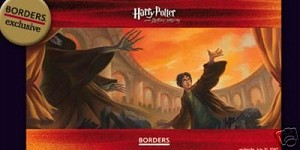 Harry Potter Deathly Hallows, Promo Book Release Poster