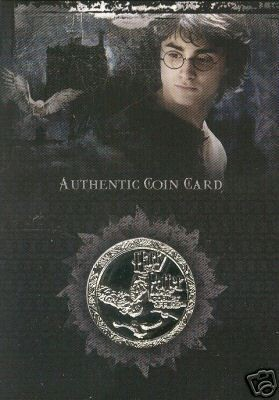 Coin Card CC2, Goblet of Fire, Trading Card