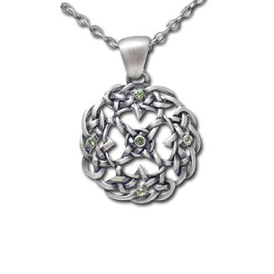 Wreath Celtic Knot, Necklace