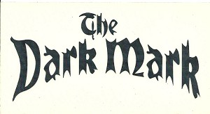 Dark Mark Black, Car Decal Sticker Small