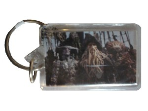 Davy Jones Palifico Maccus, Keychain