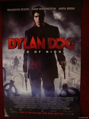 SDCC 2011 DYLAN DOG PROMO POSTER 12 x 18 RARE