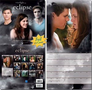 Twilight Saga, Eclipse Calendar, 2011
