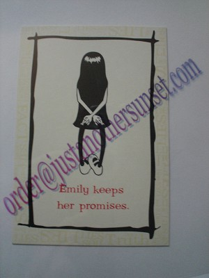 Emily Keeps Her Promises, Postcard