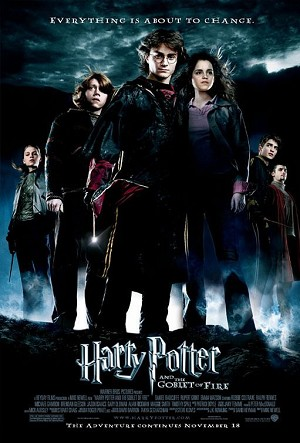 "Goblet of Fire ""Everything is About To Change"", Movie Poster"