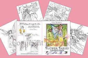 Sara Butcher Flower Fairies Coloring Book