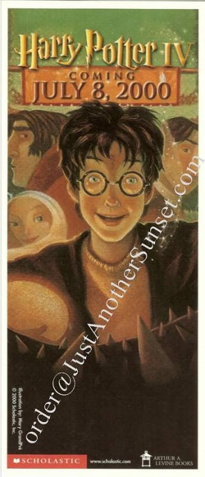 Goblet of Fire Promo, Bookmark