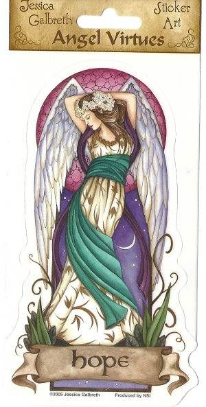Angel Virtues Hope, Sticker